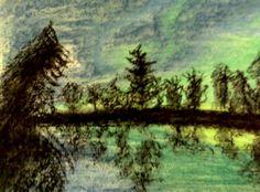 Northern Lights Lit Lake