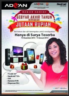 Gebyar Akhir Tahun Berhadiah Jutaan Rupiah dari Advan 15 Desember 2014 – 14 Januari 2015