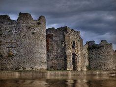 Portchester Castle -Portsmouth, UK