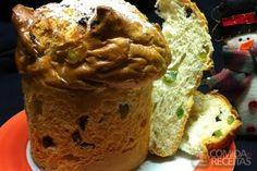 Receita de Panetone tradicional em receitas de doces e sobremesas, veja essa e outras receitas aqui!