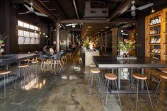 Code Black Coffee, Brunswick, Australia by Zwei Interiors Architecture