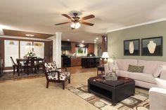 Modular open floor plan! Cavalier 6647cav • 74CAV32663BH • 1980 sq.ft • 3 Beds • 2 Baths • $131,043 - $133,057 #modularhome #floorplan