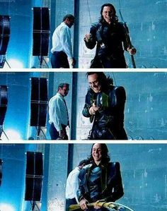 Okay, I think Tom was having way too much fun on set. :D Are we sure he plays a villain?