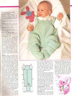 Artesanato diversão e prazer: Roupinhas para bebê em trico com receita