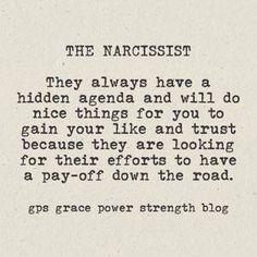You are truly a narcissist. You were never really in it even as a friend and looked for ways to make yourself feel good.  You were never an original. You have only ever copied those you swore were enemies so you could have your little drama games