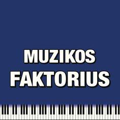 Muzikos Faktorius logo