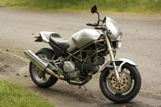 My Ducati.  1997 Monster 750. So pretty :')