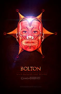 Game of Thrones Icon Bolton by jjfwh.deviantart.com on @deviantART