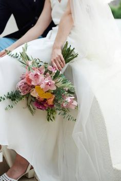 One of our favorite bouquets of the wedding season! Loved the colors and the combination of the flower types. Proteas and orchids married on the best way! Beach Ceremony, Wedding Ceremony, Bouquet Wedding, Wedding Dinner, Summer Wedding, Destination Wedding Planner, Wedding Planning, Olive Wedding, Bride Poses