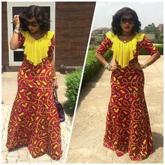 Top Ten Creative Aso Ebi Styles Ankara 2016 Dabonke by Zahra Delong African Dresses For Women, African Print Dresses, African Print Fashion, Africa Fashion, African Attire, African Wear, African Fashion Dresses, African Women, African Prints