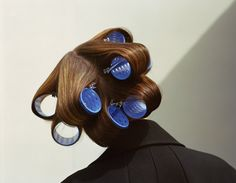Zoe Ghertner. #photographyloves #hair #rollers #portrait #photography
