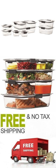 Rubbermaid Brilliance Food Storage Container Set 22 Piece Clear Endearing Food Storage Containers 20655 Rubbermaid Easy Find Lids 26Piece Design Ideas