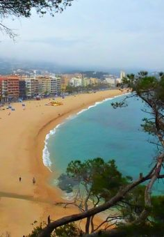 Lloret de Mar Beach Costa Brava, Spain