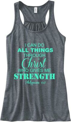 Filipenses 4:13 tanque por katherine