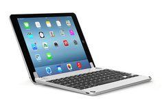 The ultimate bluetooth keyboard case for iPad Air, iPad Air 2 & iPad Pro. The perfect balance between iPad and MacBook. Bluetooth Keyboard, Stereo Speakers, Latest Ipad, Keyboard Cover, Computer Keyboard, Ipad Air 2, Apple Products, Ipad Pro, Apple Ipad