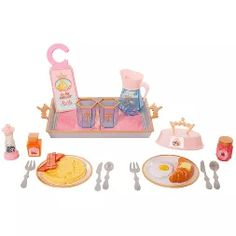 The Disney Princess Style Collection Rise and Shine Room Service Set has everything that a princess needs to start her day off right, while away on a fabulous vacay! Little Girl Toys, Toys For Girls, Little Girls, Disney Princess Toys, Disney Toys, Princess Cakes, Birthday Cake Maker, Disney Frozen 2, 10th Birthday