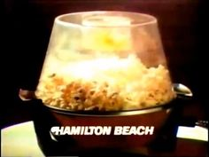 """"""" Hamilton Beach Scovill commercial featuring Football great, Joe Namath and the Butter Up Popper. Joe Namath, Hamilton Beach, Butter, Butter Cheese"""