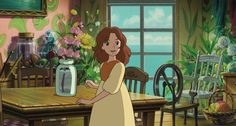 arriety | Arrietty lives with her parents in their own home. They're so small ...