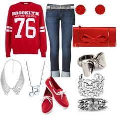 """""""STAR"""" by allyclaire on Polyvore"""