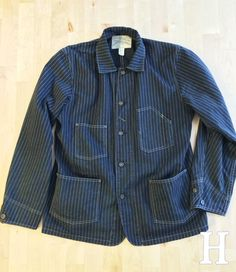 RRL Empire Wabash Denim Chore Jacket
