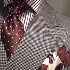 Camisa a rayas tinto