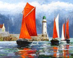 Yachting, Belle Île En-Mer: Gleb Goloubetski.