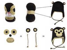 Monkey Hat de Katia | Fil Diamond