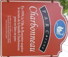 Ma découverte: Le parc Charbonneau de Rosemère - Wooloo Parcs, City, Cities