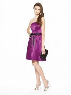 Sleeveless Above the Knee A-Line Bridesmaids Dress Augusta Model : DWGYS14215 Regular Price: $156.74 Special Price: $93.76 Total Save: $62.98