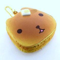 Kapibara San Pancake Squishy Mascot with tongue
