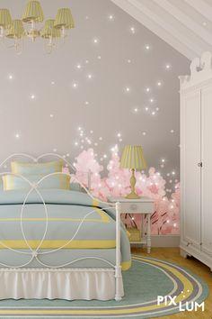 Kuscheln und träumen, stillen und wickeln, spielen und toben - das Kinderzimmer muss vielen Bedürfnissen gerecht werden. Mit einer kreativen Beleuchtung schafft ihr eine tolle Atmospähre!