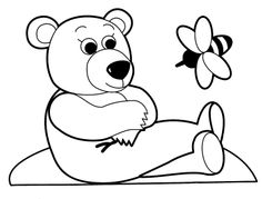 Toys colouring picture For babies