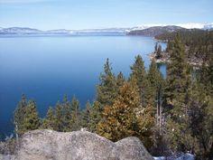 I've hiked near Lake Tahoe, CA/NV.