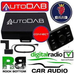 Saab autodab dab+ car stereo fm radio #digital tuner & #glass aerial #upgrade kit,  View more on the LINK: 	http://www.zeppy.io/product/gb/2/252487081211/
