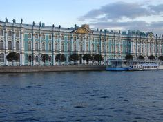 The Hermitage Museum - St. Petersburg Russia.  Pictures do not capture how beautiful this place was! Ready to go back!