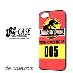 Jurassic Park Tour Vehicle DEAL-5997 Apple Phonecase Cover For Iphone 5 / Iphone 5S