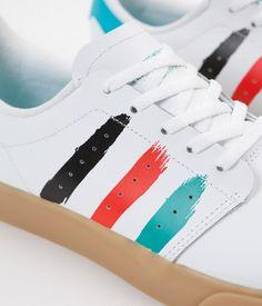 Adidas Seeley Court Shoes - White / Energy Blue / Energy