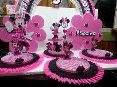 Decoracion De Fiestas Infantiles Minnie Mouse #1