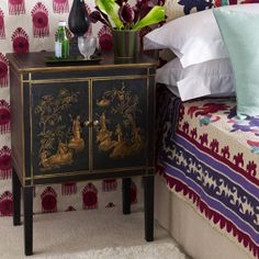 Handpainted Han Chinese Cabinet What about this instead of painting the other one?
