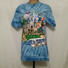 FLASH SALE  Tye-dye Disney shirt WDW Disney Tops Tees - Short Sleeve