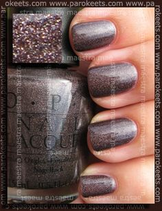OPI - My Private Jet (Green Label) $7 swatched on sticker