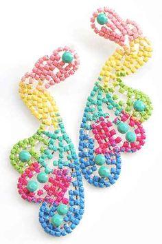 Pastel earrings from Flatterbuy Accessories