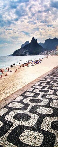 Praia de Ipanema, Rio de Janeiro, Brasil.