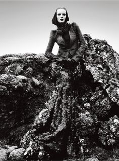 Charlotte Tomaszewska for Vogue Portugal Novemberber 2012 by Kevin Sinclair