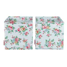 View all | Set of 2 Kingswood Rose Small Cube Storage Boxes | CathKidston