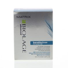 Matrix Biolage Keratindose Pro-Keratin Concentrate 10x10ml Ampullen Chemisch Overbehandeld Haar 100ml