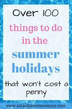 Check out this list of fun things to do this summer that won't cost a penny – yep totally free summer fun to keep the kids happy and busy all through the school holidays this summer - Education and lifestyle Holiday Activities For Kids, Free Activities, Summer Activities, Family Activities, Gentle Parenting, Parenting Advice, Kids And Parenting, Summer Fun, Free Summer
