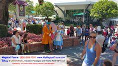 Alice and the Mad Hatter from Alice in Wonderland  www.MyMagicalTours.com  Tours@MyMagicalTours.com  (850) 559-1031   #disneyworld #wdw #disneybound #disneyvacation #disneymom #disneyplanner