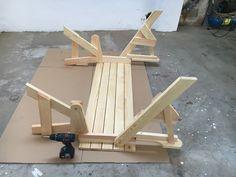 BATIKO ist die Gartentisch-Gartenbank-Kombination aus Naturholz geölt - Gartenmöbel mit Pfiff Folding Picnic Table Bench, Diy Picnic Table, Picnic Table Plans, Wooden Bench Plans, Tire Art, Mobile Workbench, Outdoor Furniture Plans, Easy Woodworking Projects, Projects To Try