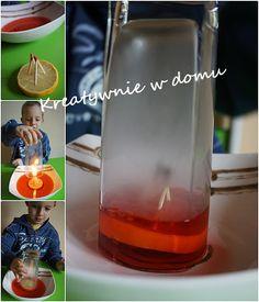 Balonowo-wodne eksperymenty | Kreatywnie w domu Techno, Art For Kids, Diy And Crafts, Projects To Try, Water Bottle, Science, Children, Montessori, Art Kids